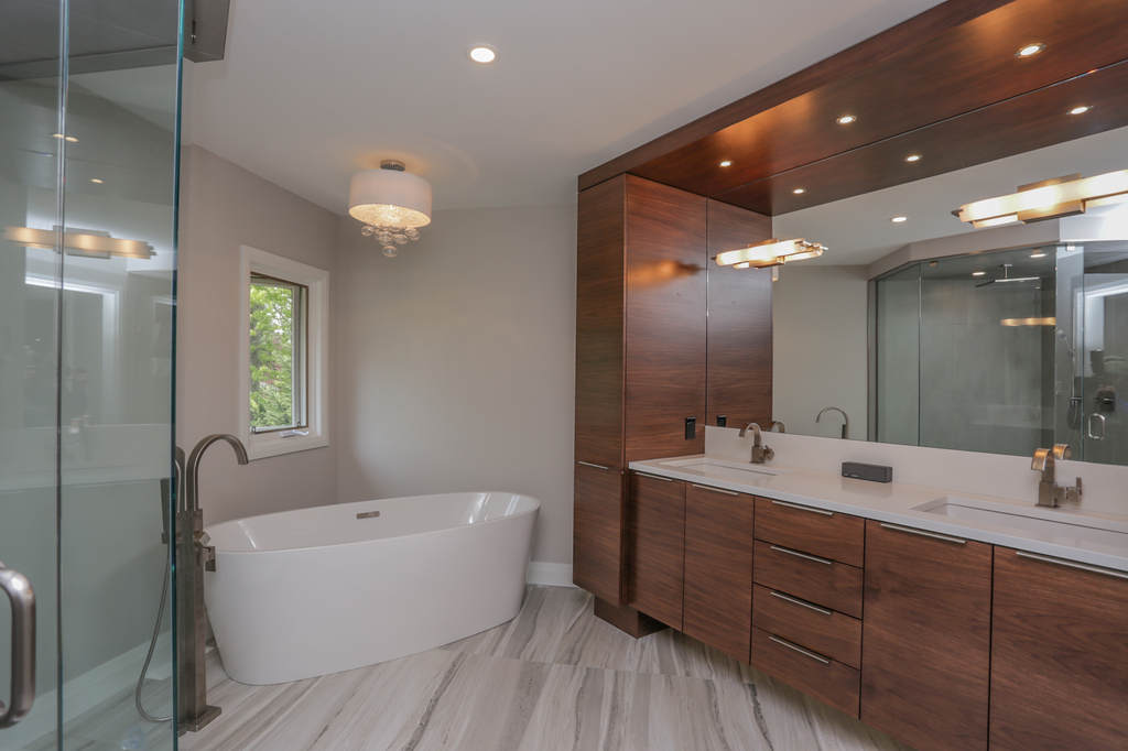 Core builders home renovations construction in london for Bathroom decor london ontario