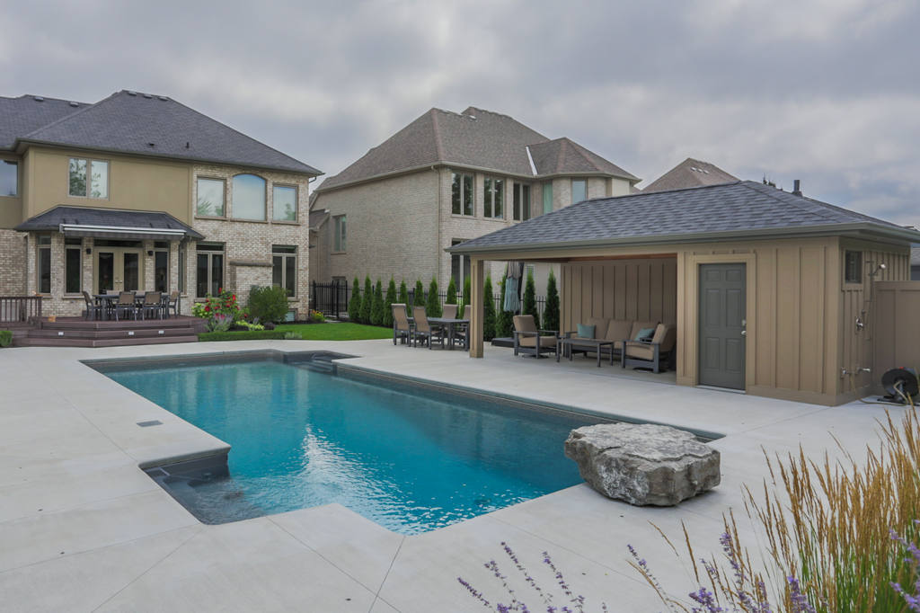 Core builders homes construction design in london for Pool design london ontario